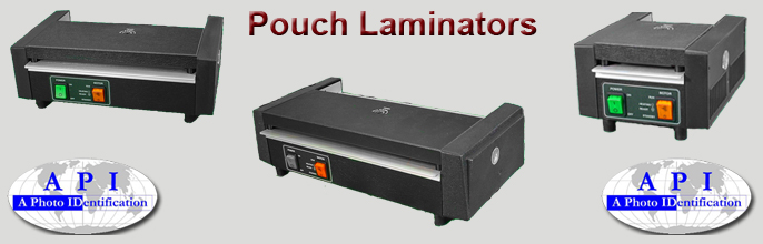 Pouch laminators at A Photo ID